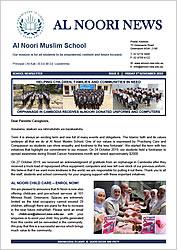 Newsletter Issue #8 - 1 November 2019