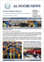 Newsletter Issue #9 - 3 December 2019